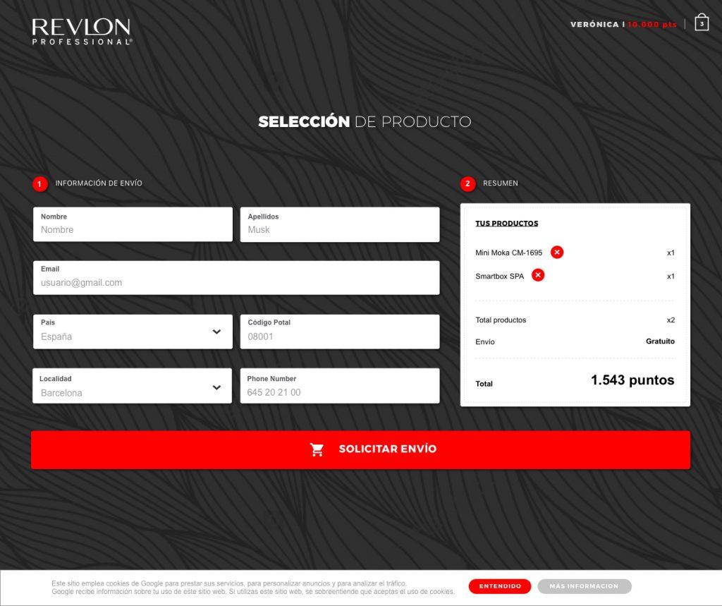 Revlon gold 05